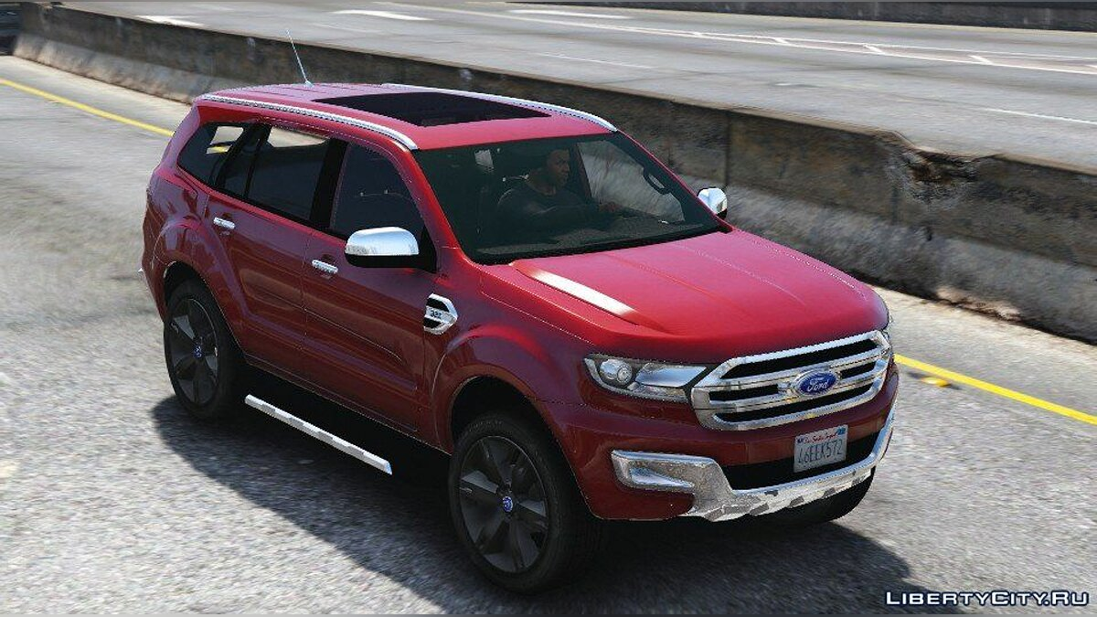 Машина Ford Ford Everest (Add-on / Replace / Trailer) 1.2 для GTA 5