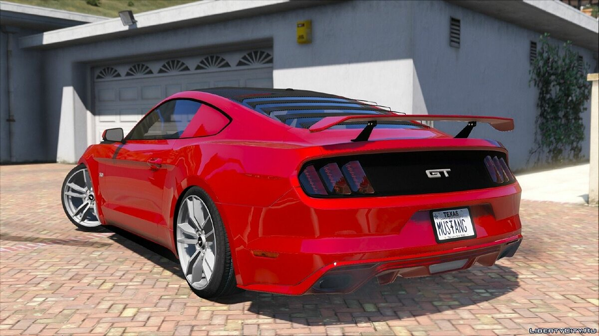 Машина Ford Ford Mustang GT 2015 для GTA 5
