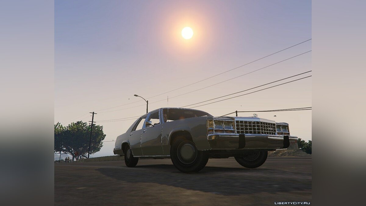 1987 Ford Crown Victoria [Replace] 1.0 для GTA 5 - скриншот #3