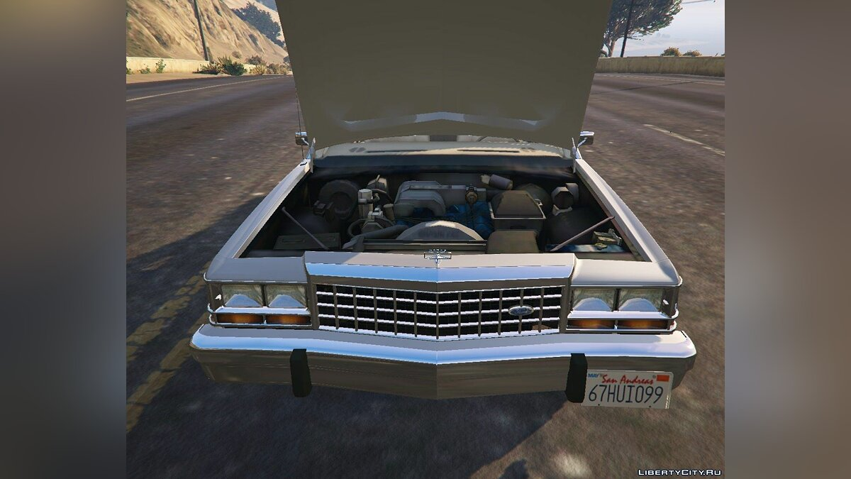 1987 Ford Crown Victoria [Replace] 1.0 для GTA 5 - скриншот #6