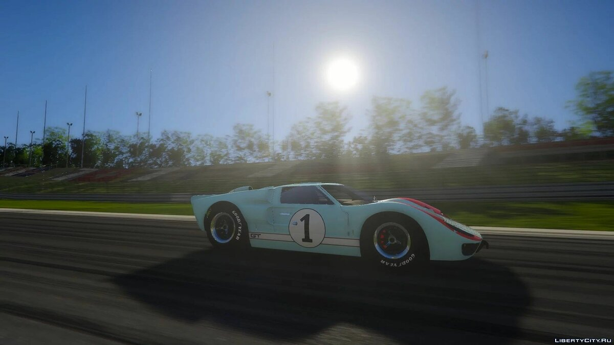 Машина Ford 1966 Ford GT40 MKII [Add-On | Template | Liveries] 1.0 для GTA 5