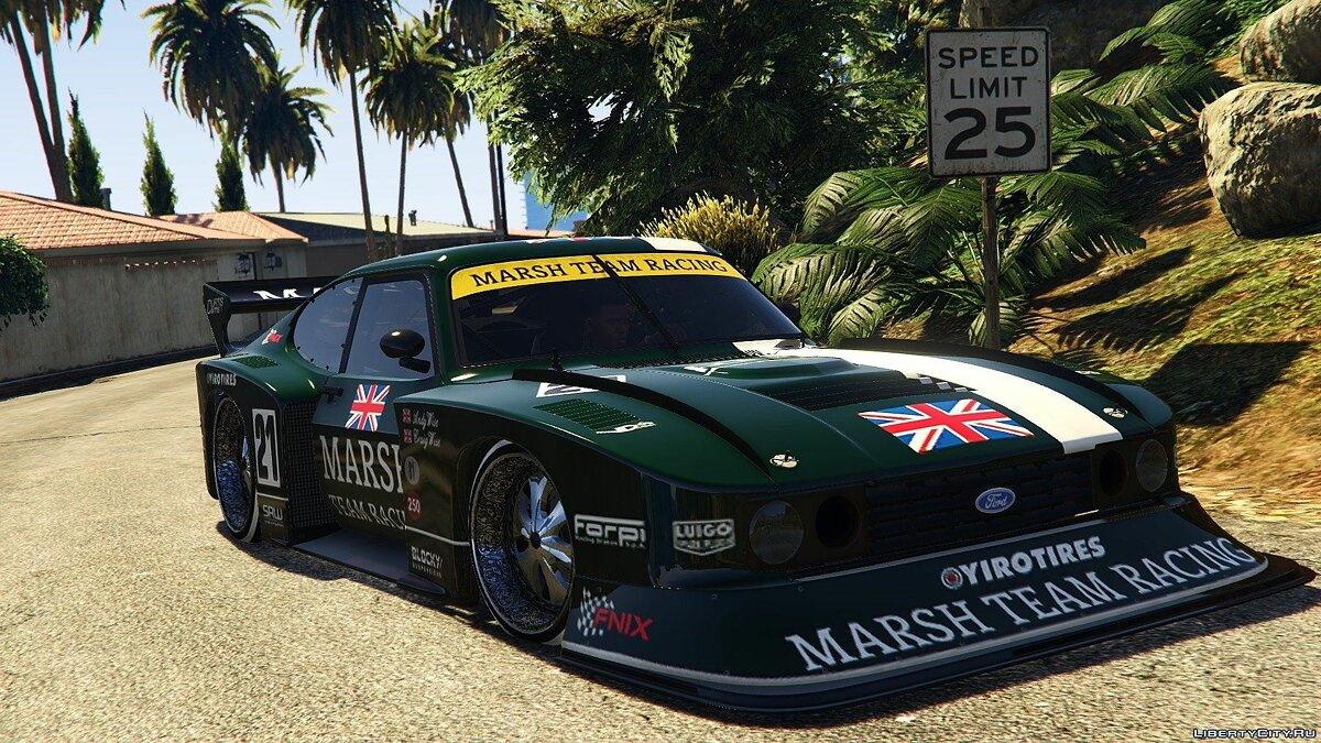 Ford Capri Zakspeed Group 5 1980 [Add-On] для GTA 5 - скриншот #9