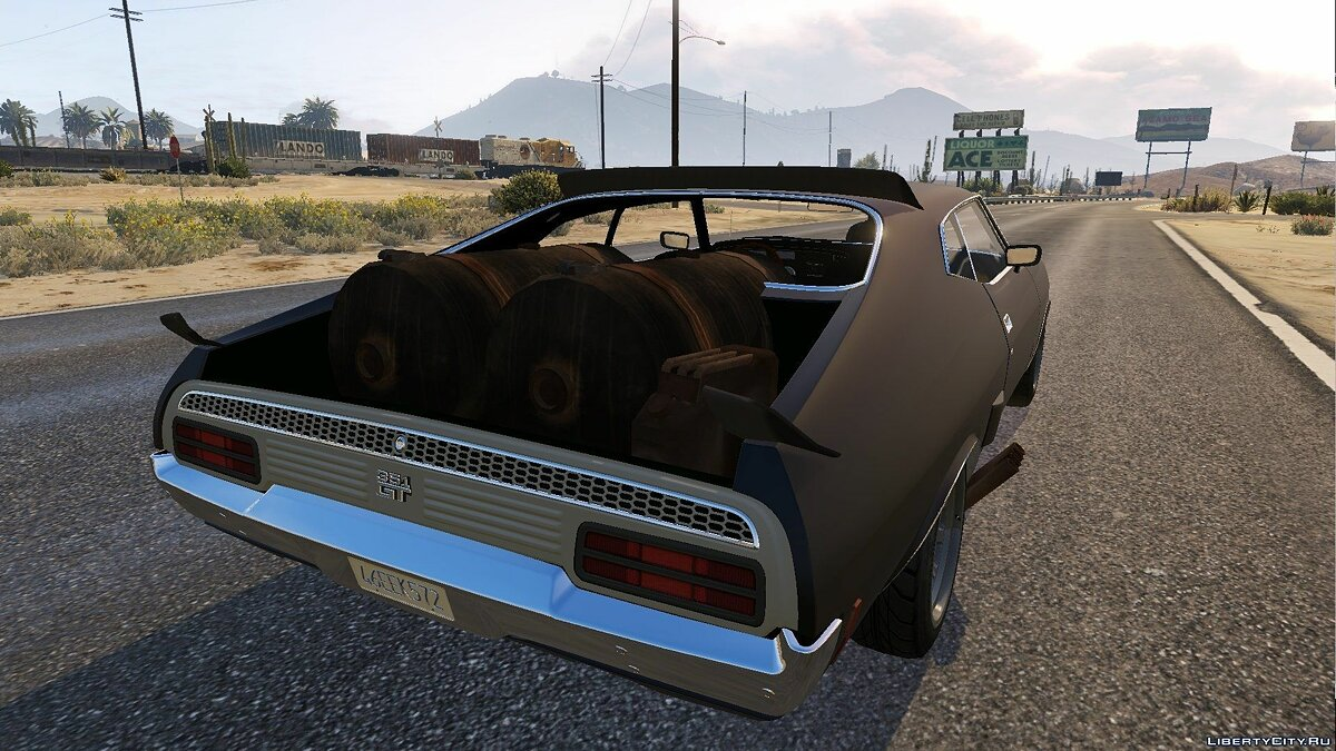 1973 Ford Falcon XB GT 351 [Tuning] для GTA 5 - скриншот #5