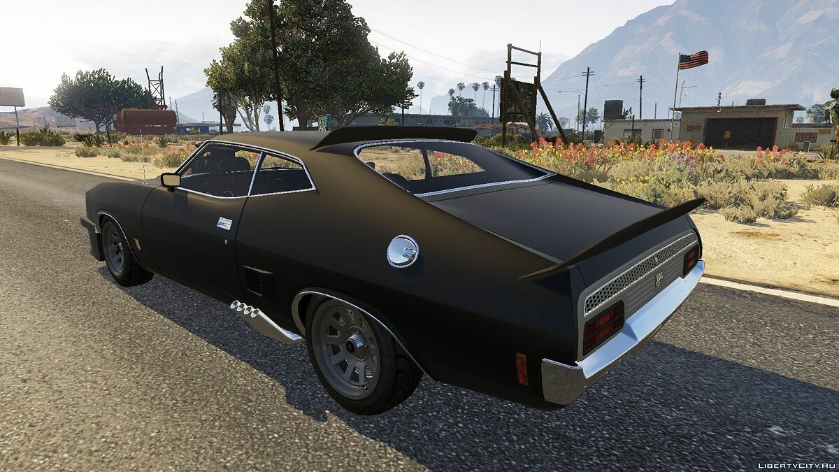 1973 Ford Falcon XB GT 351 [Tuning] для GTA 5 - скриншот #2