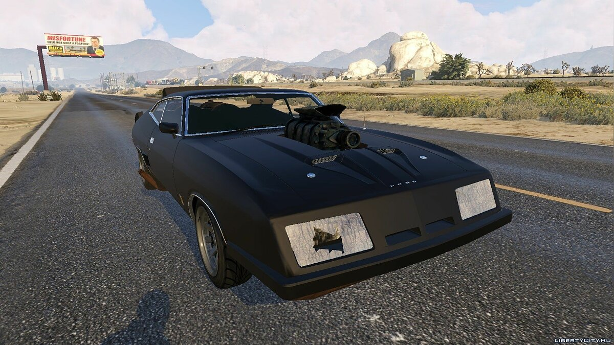 1973 Ford Falcon XB GT 351 [Tuning] для GTA 5 - скриншот #3