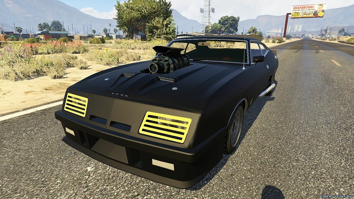 1973 Ford Falcon XB GT 351 [Tuning] для GTA 5 - скриншот #6