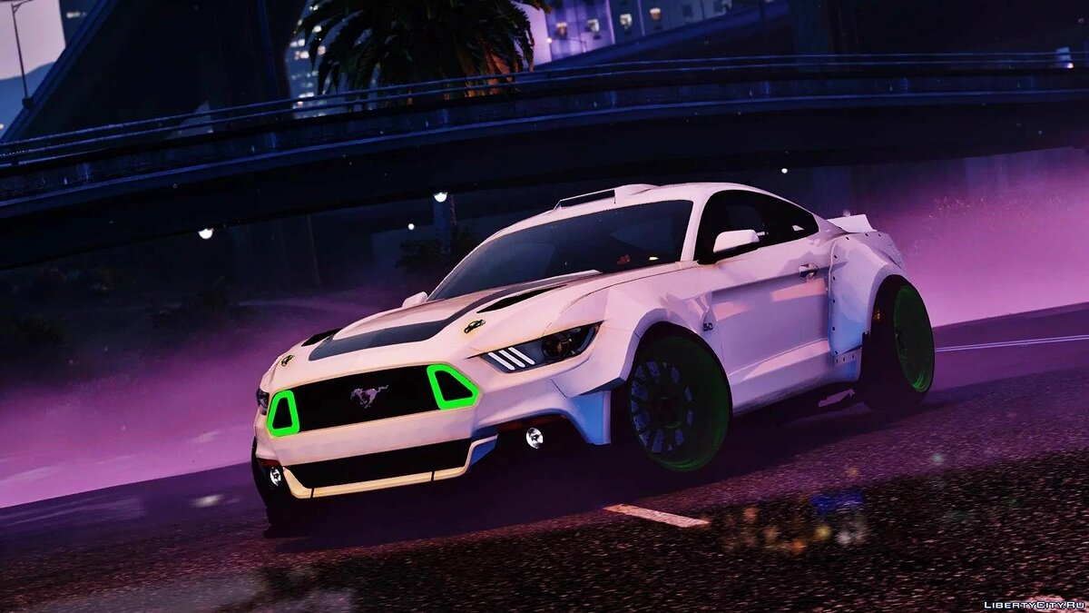 Машина Ford Ford Mustang Rtrx Coupe [Replace] 1.0 для GTA 5