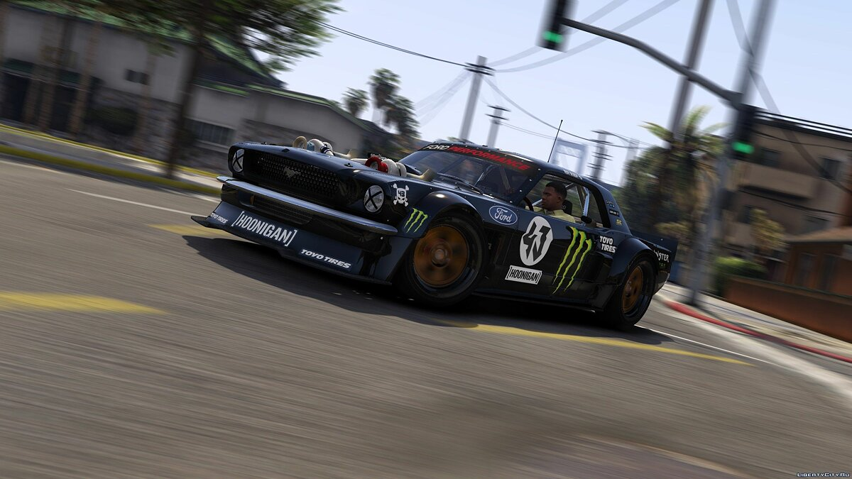 "1965 Hoonigan Ford ""Hoonicorn"" Mustang [ADDON 