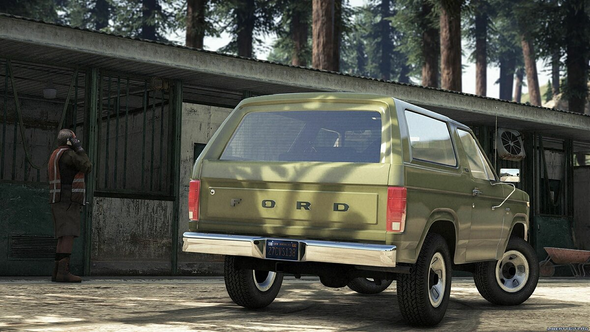 Машина Ford 1980-82 Ford Bronco XLT Pack [Add-On | LODs | Extras] 1.3 для GTA 5