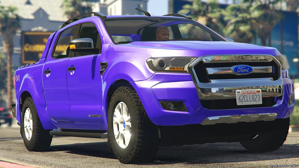 2017 Ford Ranger Limited 2.0 для GTA 5