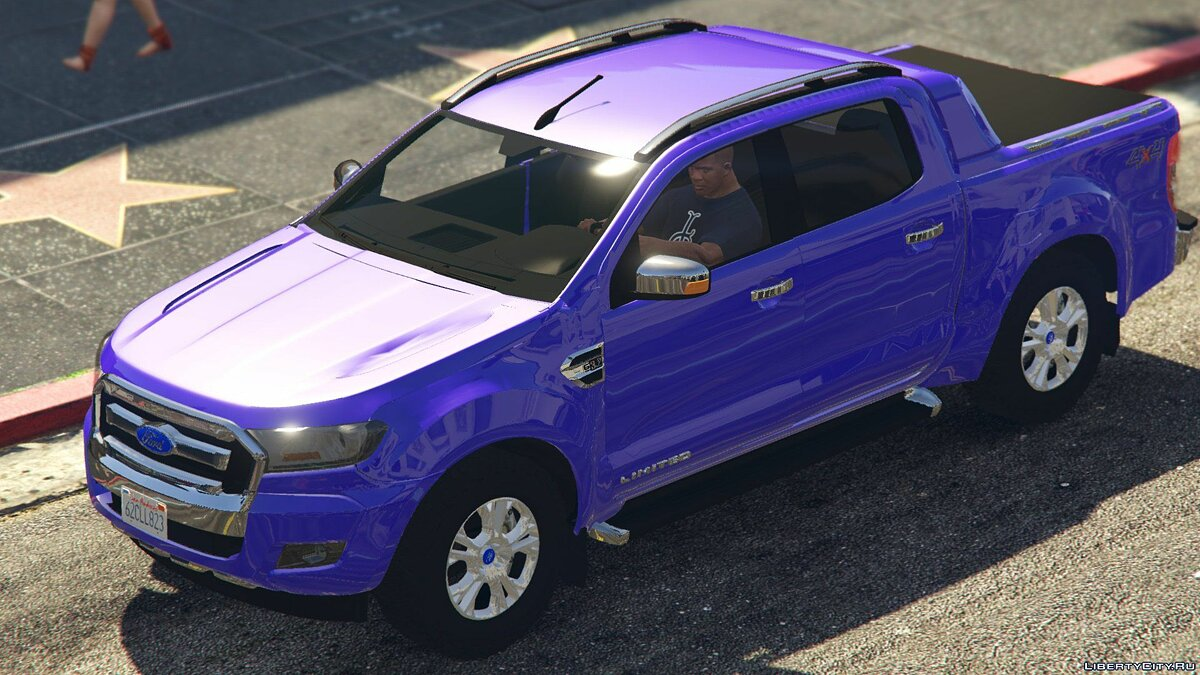 2017 Ford Ranger Limited 2.0 для GTA 5 - скриншот #2