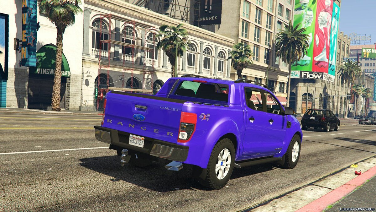 2017 Ford Ranger Limited 2.0 для GTA 5 - скриншот #4