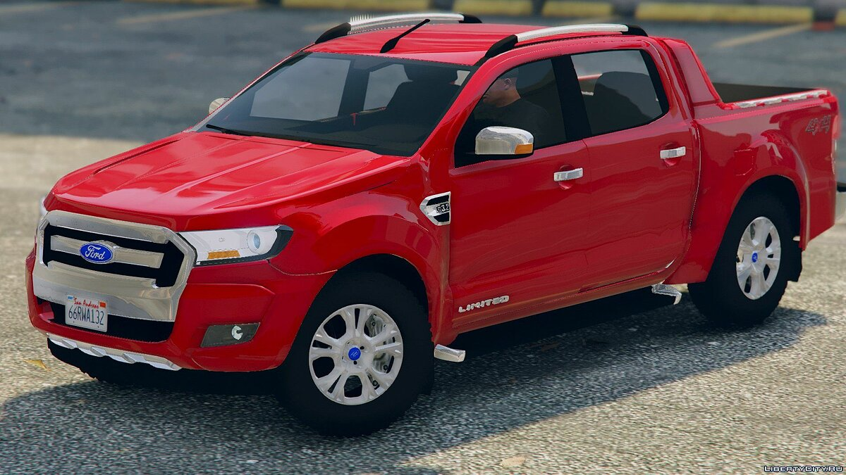 2017 Ford Ranger Limited 2.0 для GTA 5 - скриншот #5