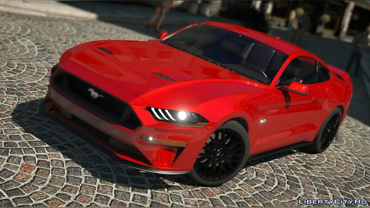 ��ашина Ford Ford Mustang GT 2018 [Add-On / Replace] для GTA 5