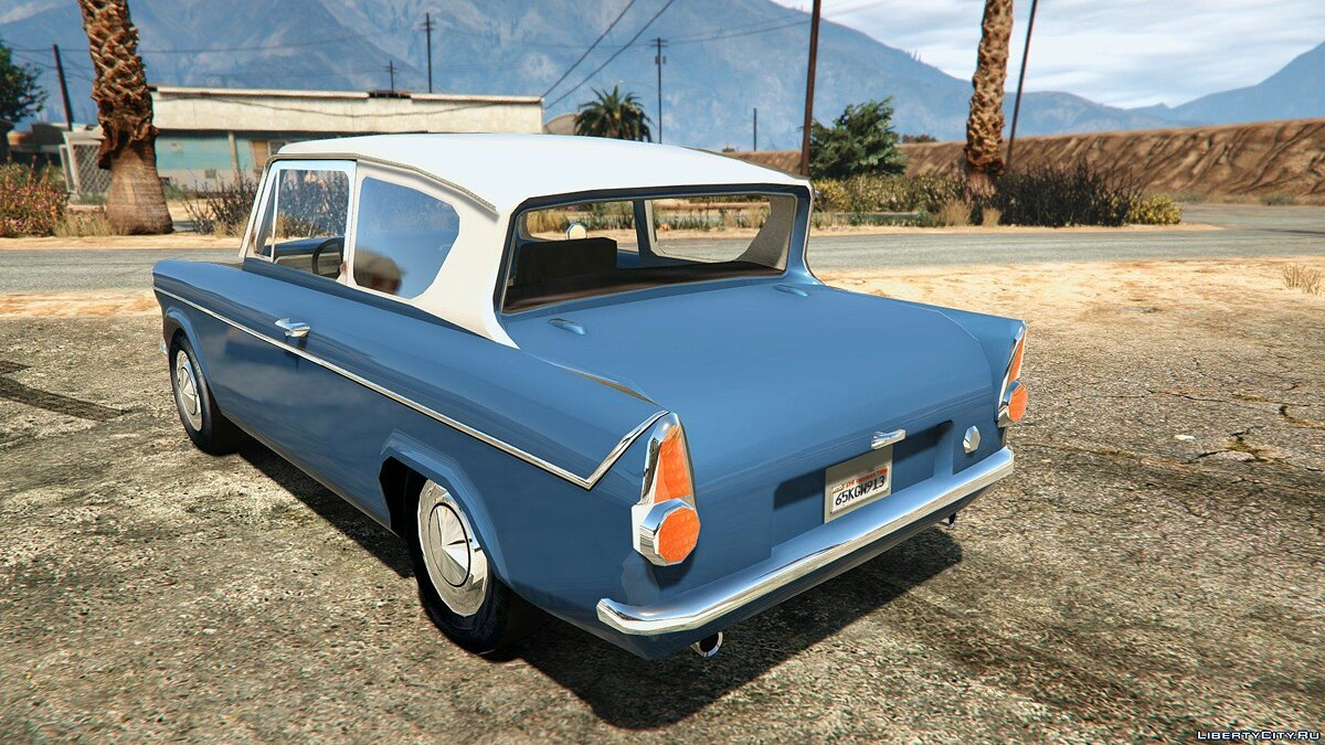 1959 Ford Anglia from Harry Potter для GTA 5 - скриншот #2