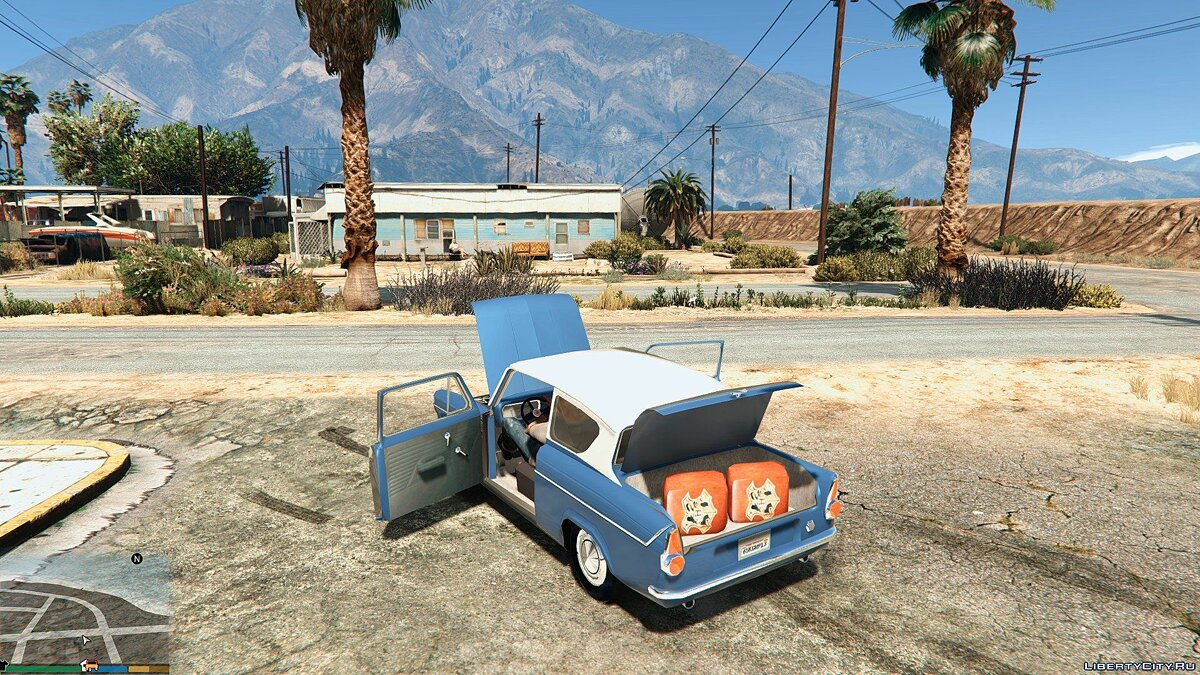 1959 Ford Anglia from Harry Potter для GTA 5 - скриншот #5