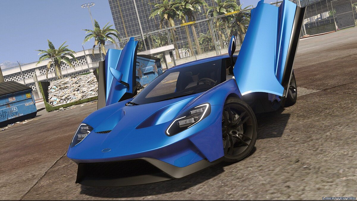 2017 Ford GT [Add-On / Replace] 1.0 для GTA 5