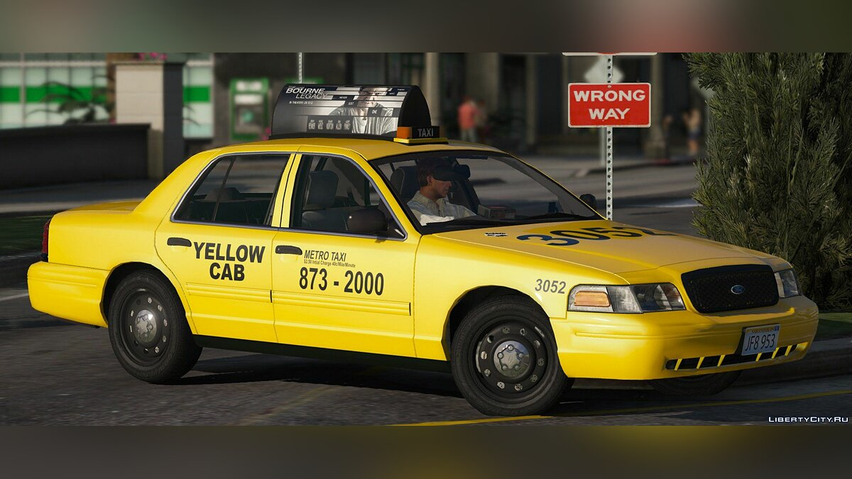 2011 Ford Crown Victoria Taxi [Replace] 1.1.0 для GTA 5 - скриншот #6