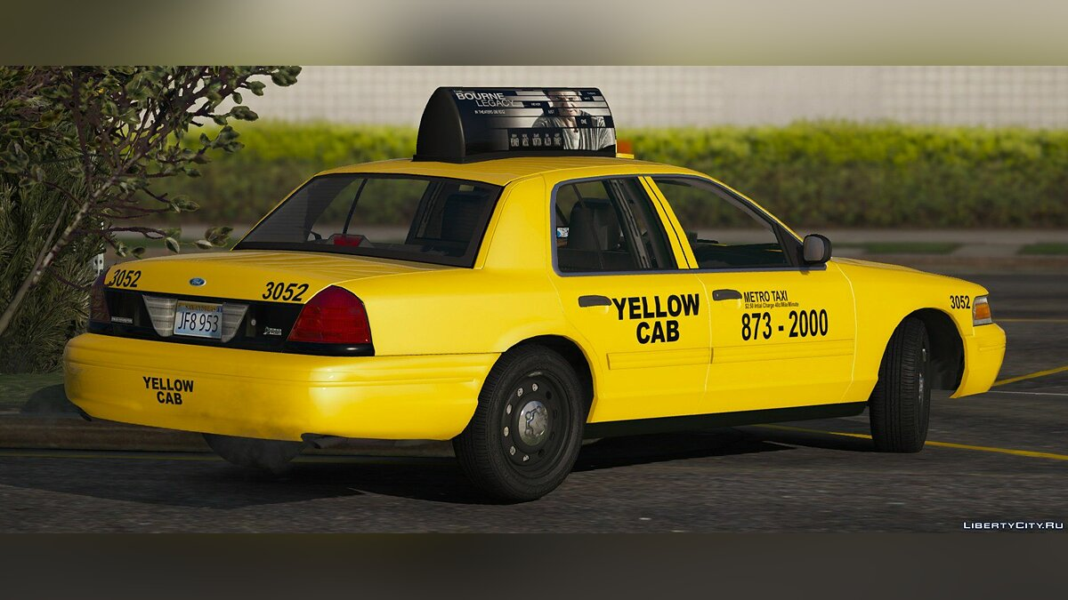 2011 Ford Crown Victoria Taxi [Replace] 1.1.0 для GTA 5 - скриншот #7