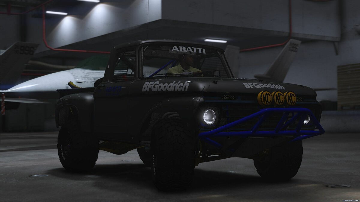Ford F-100 Flareside Abatti Racing Trophy Truck [Add-On | Livery | Animated] 1.1 для GTA 5 - скриншот #2