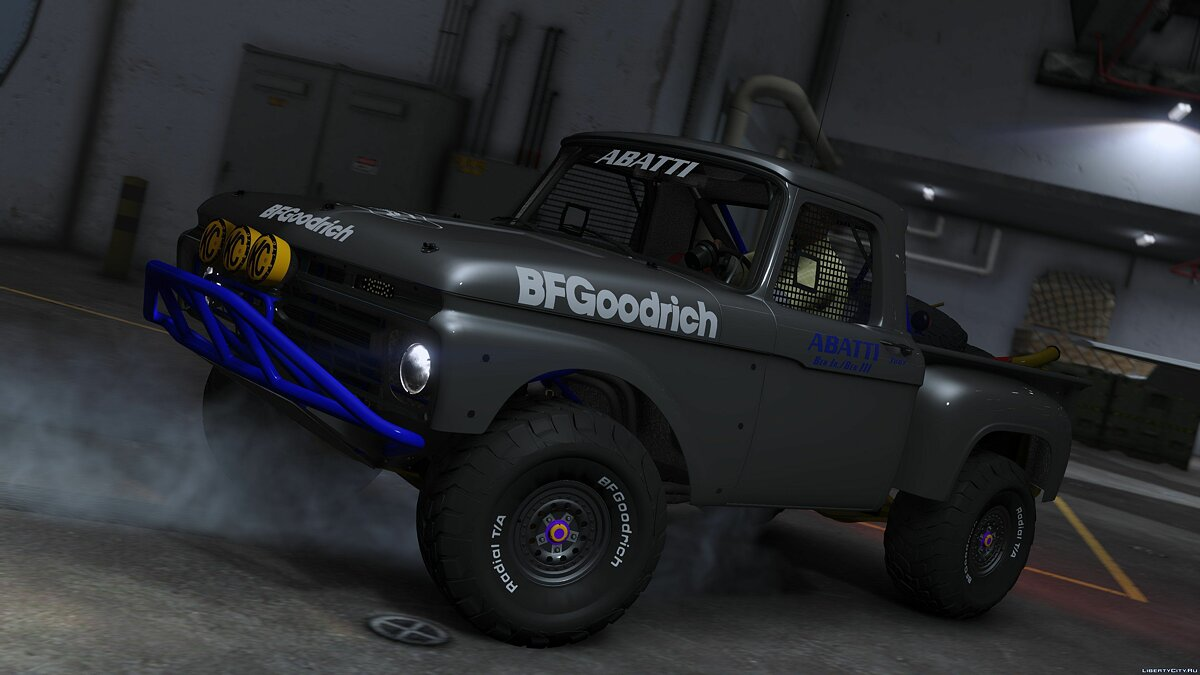 Ford F-100 Flareside Abatti Racing Trophy Truck [Add-On | Livery | Animated] 1.1 для GTA 5