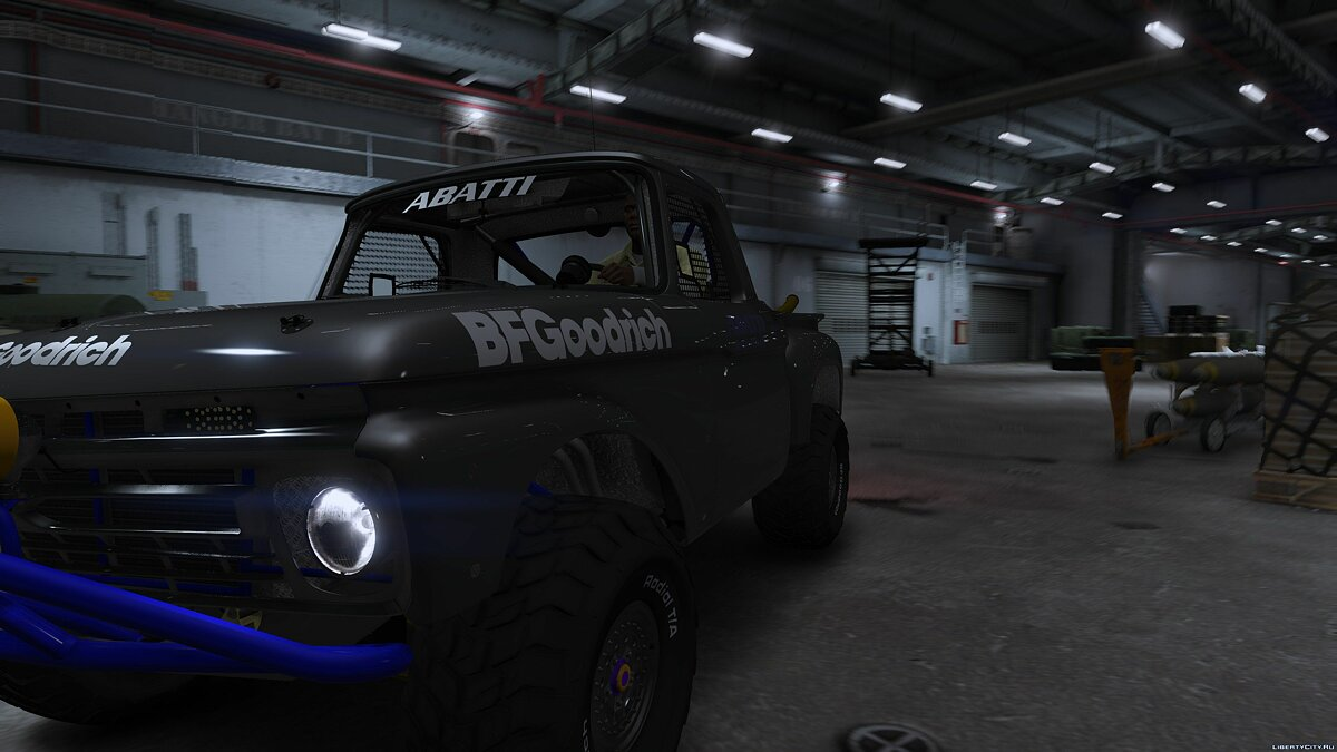 Ford F-100 Flareside Abatti Racing Trophy Truck [Add-On | Livery | Animated] 1.1 для GTA 5 - скриншот #3