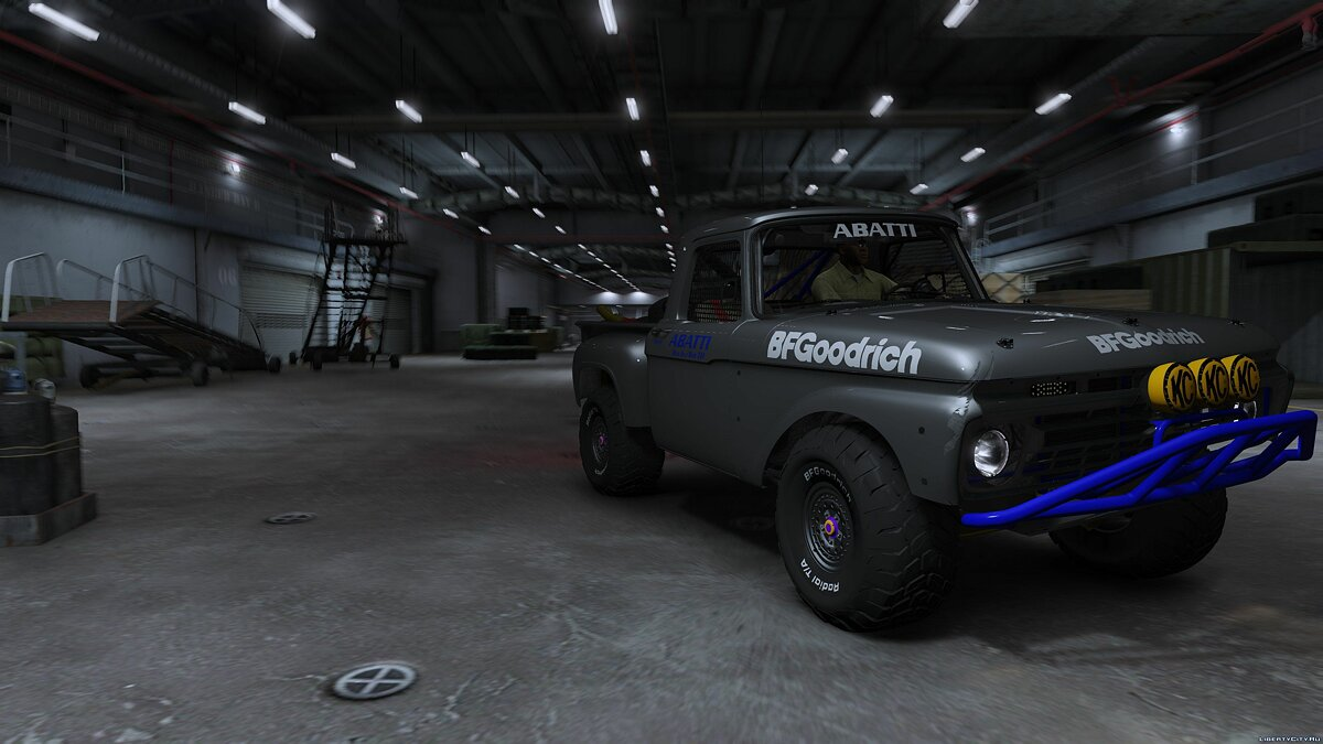 Ford F-100 Flareside Abatti Racing Trophy Truck [Add-On | Livery | Animated] 1.1 для GTA 5 - скриншот #4
