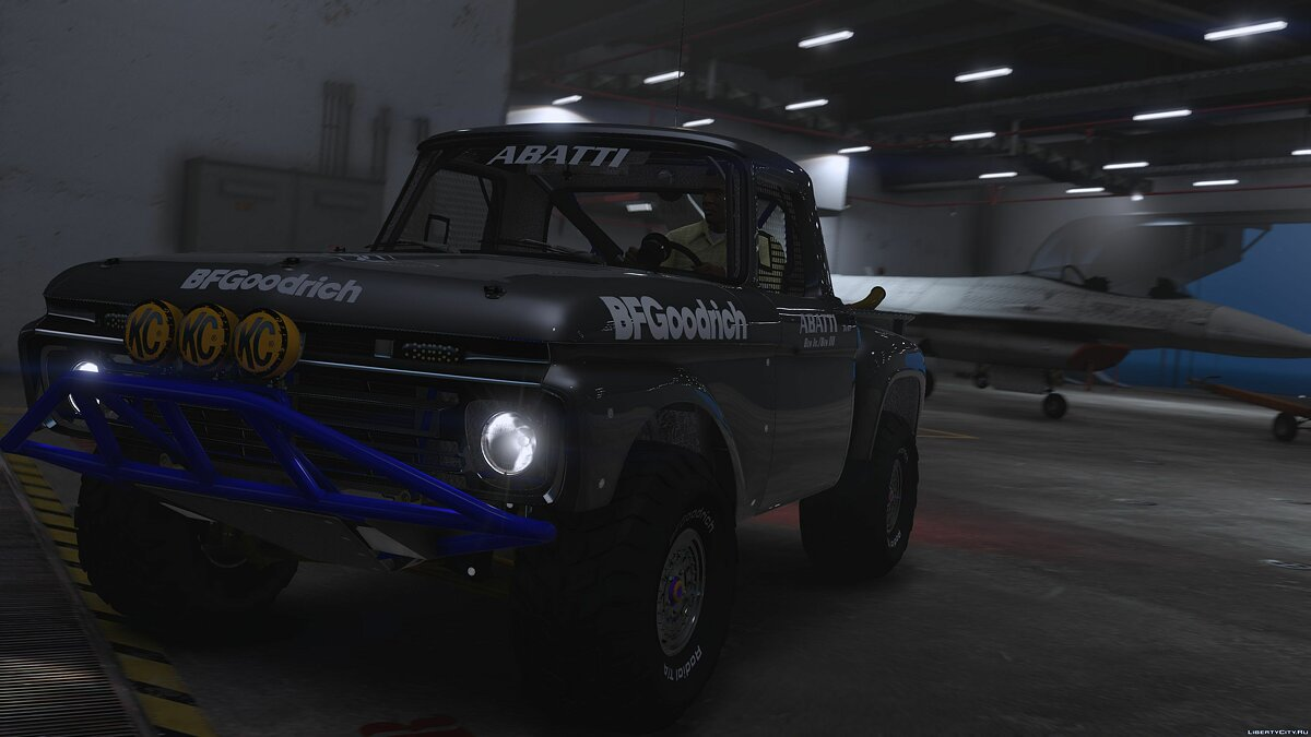Ford F-100 Flareside Abatti Racing Trophy Truck [Add-On | Livery | Animated] 1.1 для GTA 5 - скриншот #5