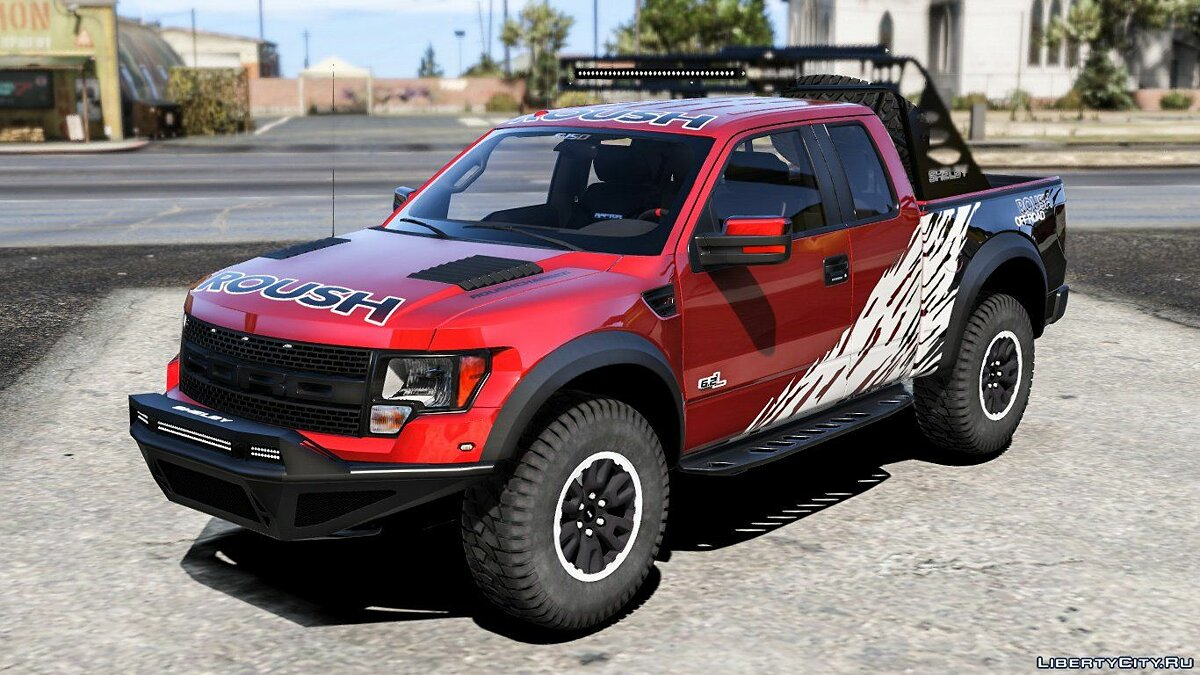 2012 Ford F150 SVT Raptor R [Add-on/Replace] V4.0 для GTA 5