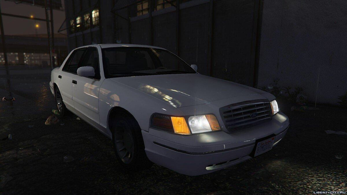 1999 Ford Crown Victoria для GTA 5 - скриншот #5