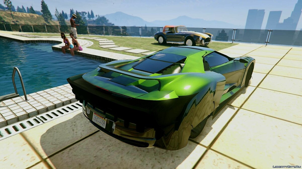 2017 Ford GT [Extras | Unlocked] 1.0 для GTA 5 - скриншот #2