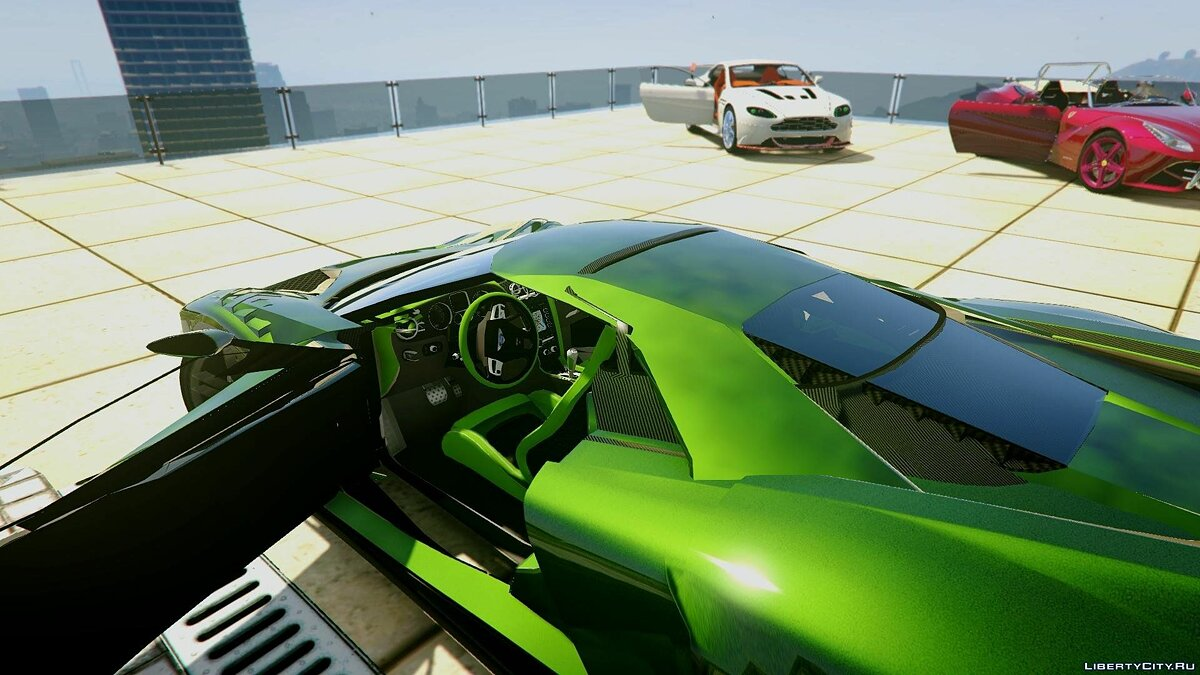 2017 Ford GT [Extras | Unlocked] 1.0 для GTA 5 - скриншот #3