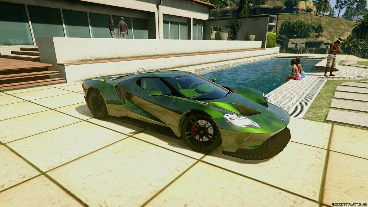 2017 Ford GT [Extras | Unlocked] 1.0 для GTA 5 - скриншот #4