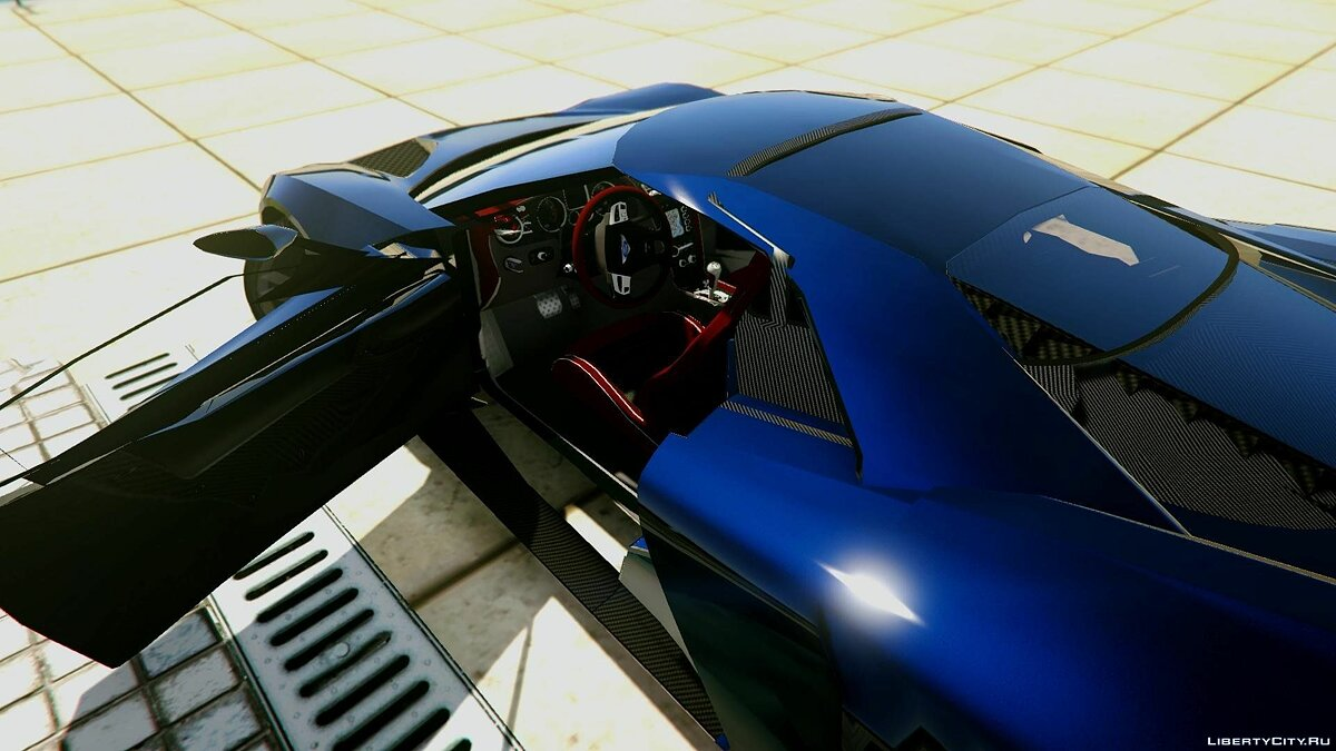 2017 Ford GT [Extras | Unlocked] 1.0 для GTA 5 - скриншот #8