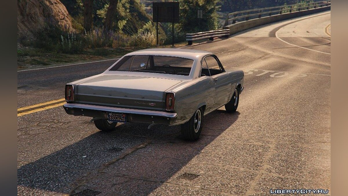 1966 Ford Fairlane 500 [Add-On] 1.2 для GTA 5 - скриншот #3