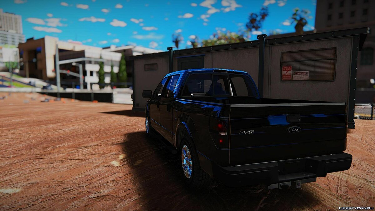 2010 Ford F150 [Unlocked | Template | Extras] 1.0 для GTA 5 - скриншот #2