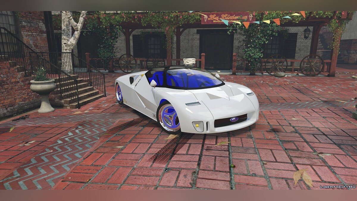 Ford GT90 [Replace] 1.0 для GTA 5