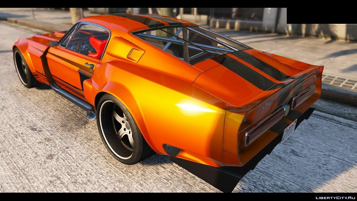 1967 Shelby Mustang GT500 HQ [SuperTuning|LowRiders Required] для GTA 5 - скриншот #6