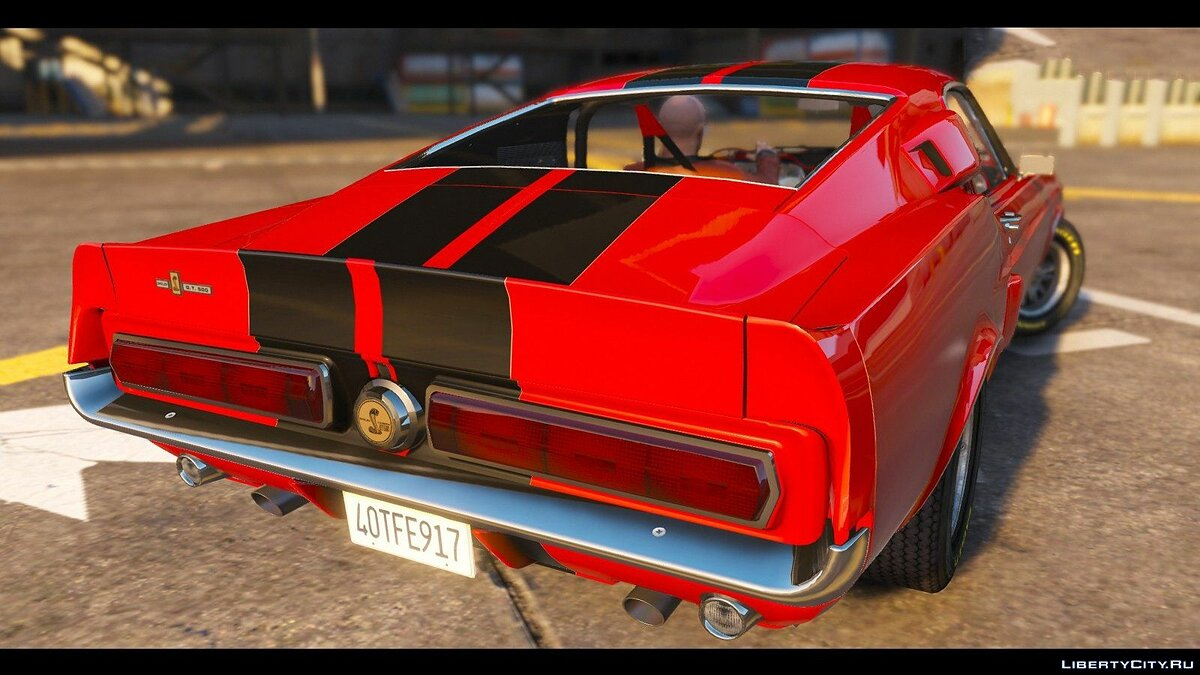 1967 Shelby Mustang GT500 HQ [SuperTuning|LowRiders Required] для GTA 5 - скриншот #5