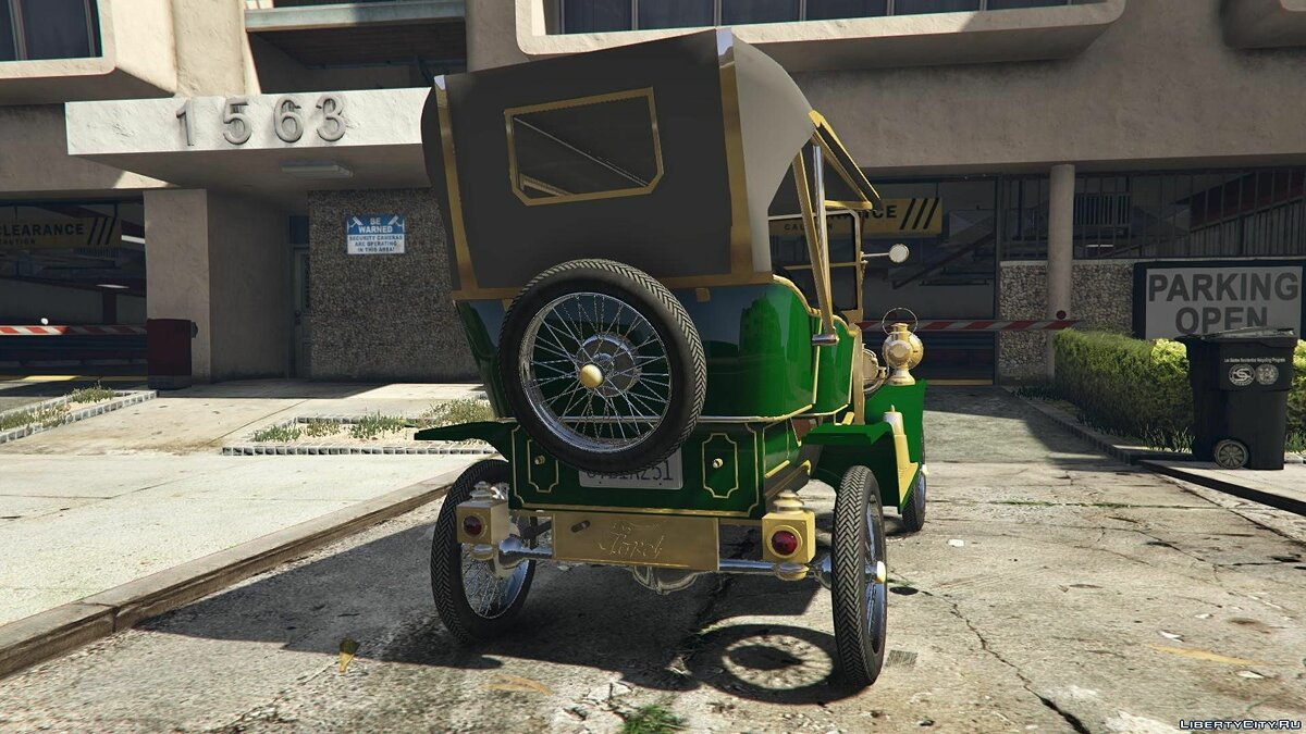 Ford T 1910 Passenger Open Touring Car для GTA 5 - скриншот #2