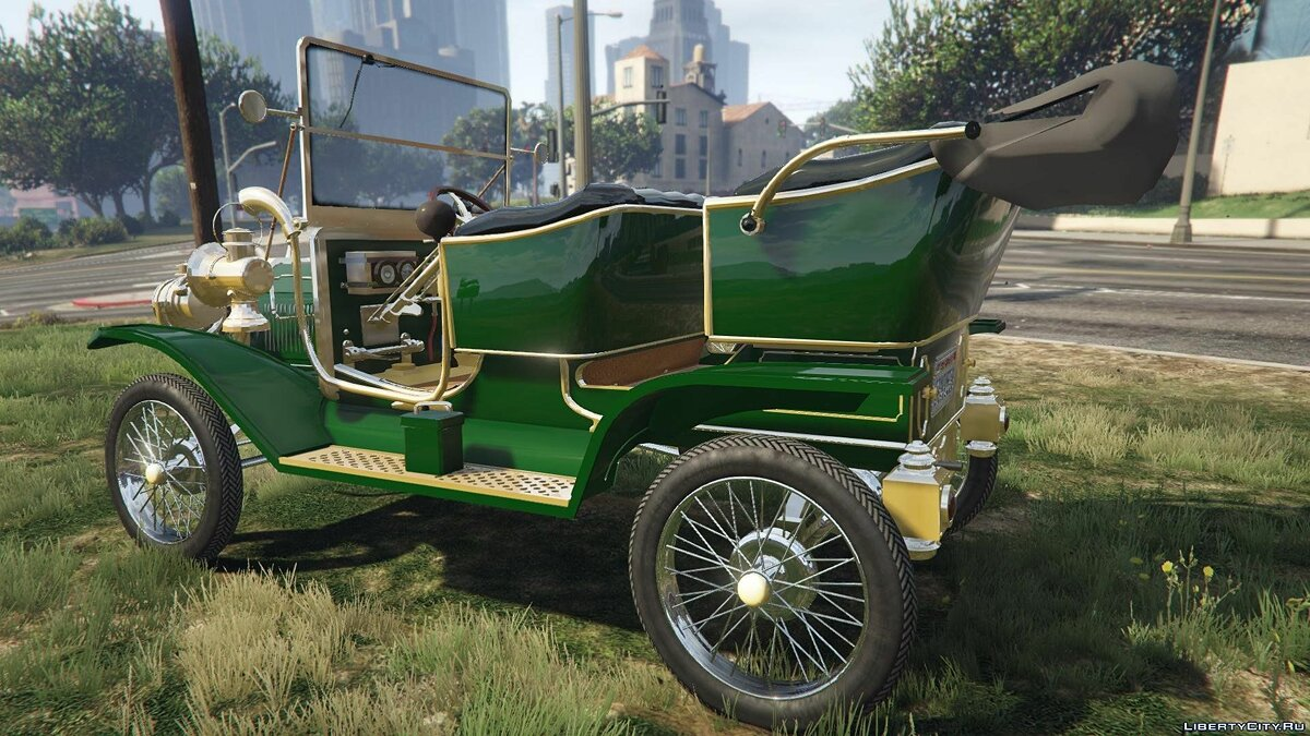 Ford T 1910 Passenger Open Touring Car для GTA 5 - скриншот #7