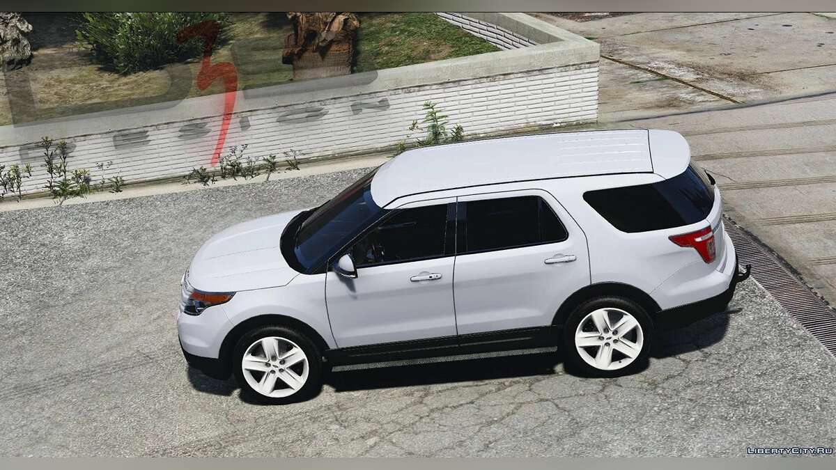 Машина Ford Ford Explorer (U502) 2013 [Replace | AO | Template] 1.0.1609a для GTA 5