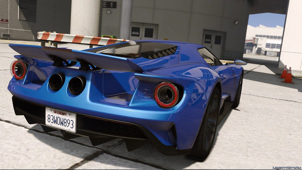2017 Ford GT [Add-On / Replace | Template] 2.0 для GTA 5 - скриншот #10