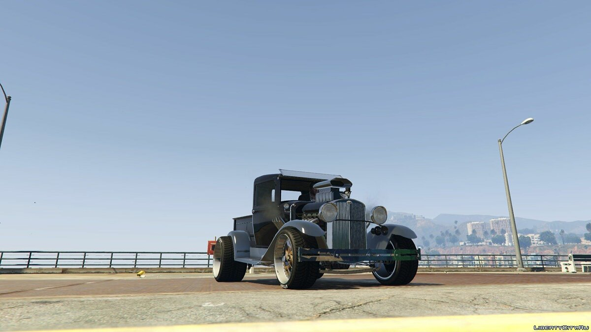 Hot Rod Ford Pick Up 0.9 для GTA 5