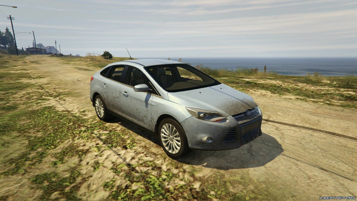2014 Ford Focus 3 Sedan [Add-On / Replace] 1.1 для GTA 5 - скриншот #2