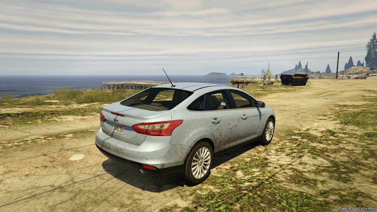 2014 Ford Focus 3 Sedan [Add-On / Replace] 1.1 для GTA 5 - скриншот #3