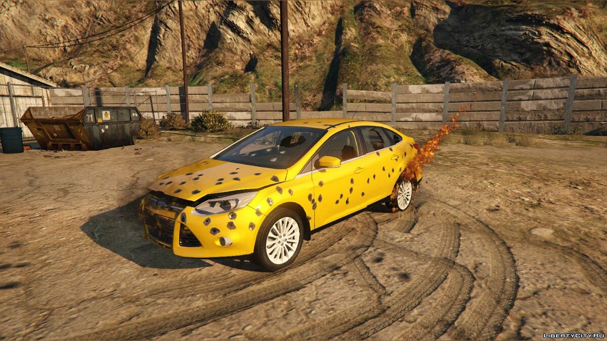 2014 Ford Focus 3 Sedan [Add-On / Replace] 1.1 для GTA 5 - скриншот #6