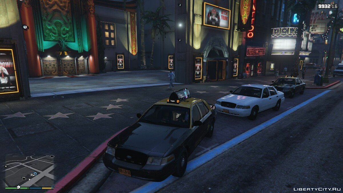 ��ашина Ford Taxi Ford Crown Victoria 2011 Chile | Paint Variations V 1.0 для GTA 5