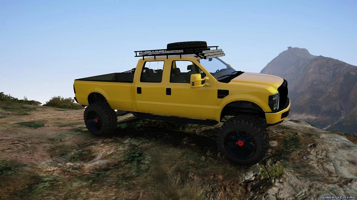 Машина Ford Ford F-350 Trilha Superduty [Replace] v1 для GTA 5