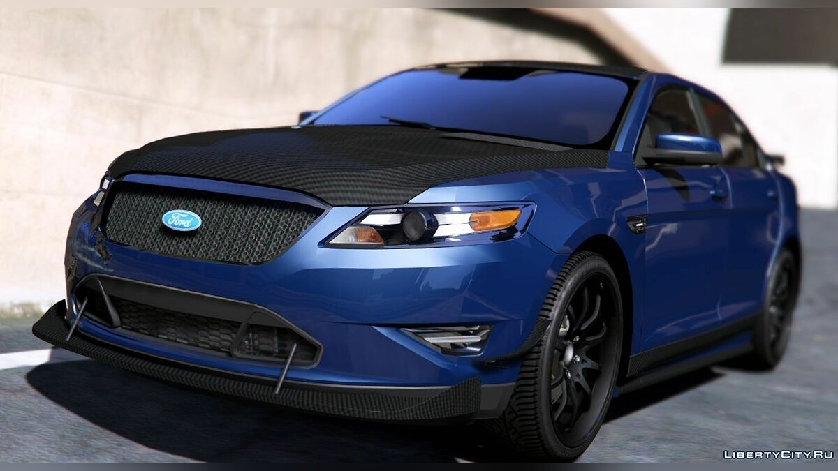 2010 Ford Taurus SHO [Tuning | Wipers] 1.0 для GTA 5 - скриншот #2